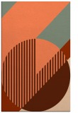 rug #1204535 |  red-orange graphic rug