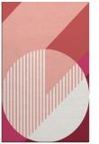 rug #1204551    pink abstract rug