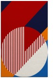 rug #1204571 |  red graphic rug