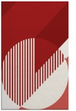 rug #1204579 |  red graphic rug