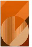 rug #1204591    red-orange graphic rug