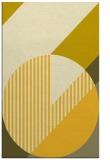 rug #1204631 |  yellow graphic rug