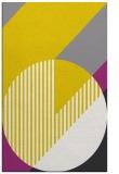rug #1204639 |  yellow geometry rug