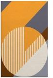 rug #1204675 |  light-orange abstract rug