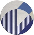 rug #1204979   round blue abstract rug