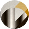 rug #1204983   round brown abstract rug