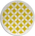 rug #120501   round white circles rug