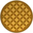 rug #120505 | round light-orange circles rug