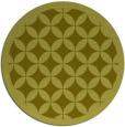 rug #120521   round light-green popular rug