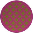 rug #120529 | round pink borders rug
