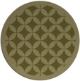 rug #120533 | round light-green circles rug