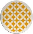 rug #120537 | round light-orange borders rug