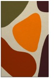rug #1206151 |  orange graphic rug