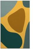 rug #1206483    yellow graphic rug