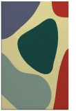 rug #1206487 |  yellow graphic rug