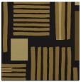 rug #1207275 | square black stripes rug