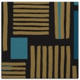 rug #1207283 | square brown abstract rug
