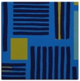 rug #1207287 | square blue abstract rug