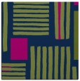 rug #1207299 | square blue abstract rug
