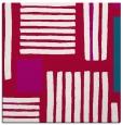 rug #1207371 | square red popular rug