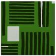 rug #1207399   square light-green stripes rug