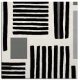 rug #1207403 | square black stripes rug