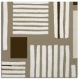 rug #1207419 | square mid-brown rug