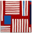 rug #1207515 | square red stripes rug