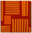 rug #1207519 | square orange abstract rug