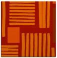 rug #1207519 | square orange popular rug