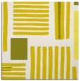 rug #1207551 | square white abstract rug