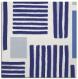 rug #1207555 | square blue abstract rug