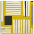 rug #1207583   square yellow stripes rug