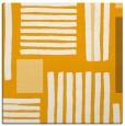 rug #1207611 | square light-orange abstract rug
