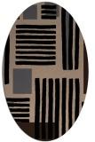 rug #1207636 | oval abstract rug