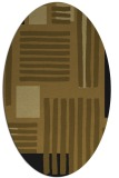 rug #1207646 | oval abstract rug
