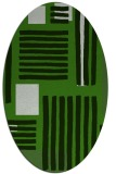 rug #1207767   oval light-green abstract rug