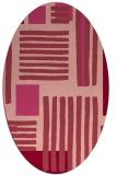 rug #1207860   oval stripes rug