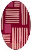 rug #1207861 | oval abstract rug