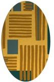 rug #1207955 | oval abstract rug