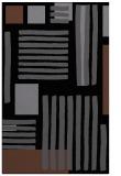 rug #1207999    black stripes rug