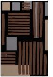 rug #1208007 |  brown abstract rug