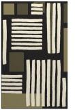 rug #1208015    black abstract rug