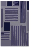 rug #1208079 |  blue-violet abstract rug