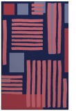 rug #1208083 |  blue-violet stripes rug