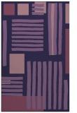 rug #1208087 |  blue-violet abstract rug