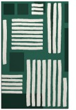rug #1208127 |  green stripes rug