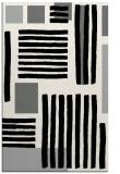 rug #1208139 |  black abstract rug