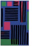 rug #1208195 |  black stripes rug