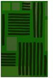 rug #1208199 |  green stripes rug